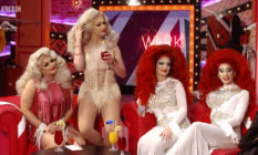 Cheryl Hole and her sister, Sissy Hole, and Divina De Campo and her sister, Delisha