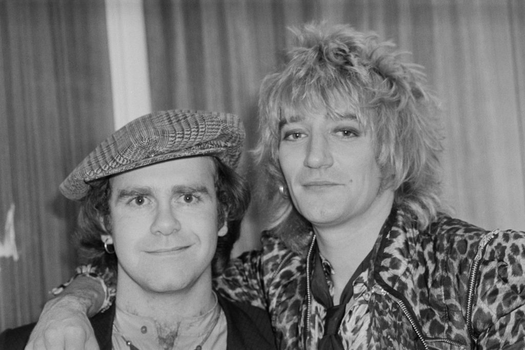 Elton John used to lure Rod Stewart onto the dance floor with poppers. Yes, really