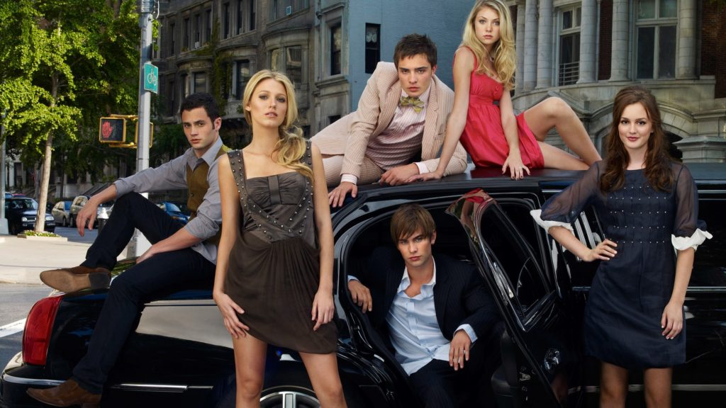 The cast of the original Gossip Girl series