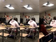 Powerful video shows gay high school teen Jordan Steffy confronting his homophobic bully