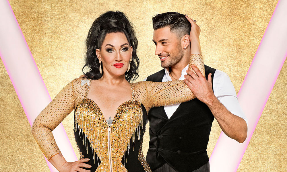 Michelle Visage and her Strictly Come Dancing partner Giovanni Pernice. (BBC)