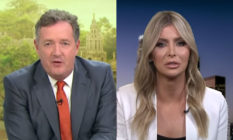 Piers Morgan and Sophia Hutchins, partner of Caitlyn Jenner
