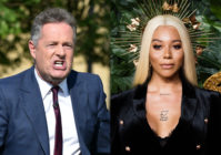Piers Morgan (L) has called Munroe Bergdorf's comments 'gobbledygook'. (HGL/GC Images via Getty/Samir Hussein/Samir Hussein/WireImage)