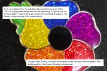 "An eBay seller listed a rainbow poppy and has received ""vile and rude message"" as a result. (Twitter)"