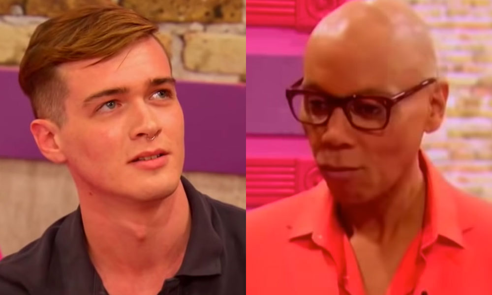 Pearl and RuPaul