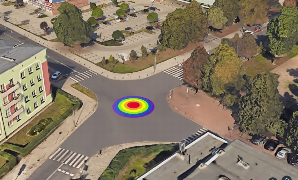 LGBT+ activists have launched a petition for Poland's 'first rainbow roundabout' in Szczecin. (Rainbow roundabouts and crossing are commonplace in sections of Europe. A way for city officials to make clear that LGBT+ citizens and tourists alike are welcome. (Mateusz Cyrulewski)