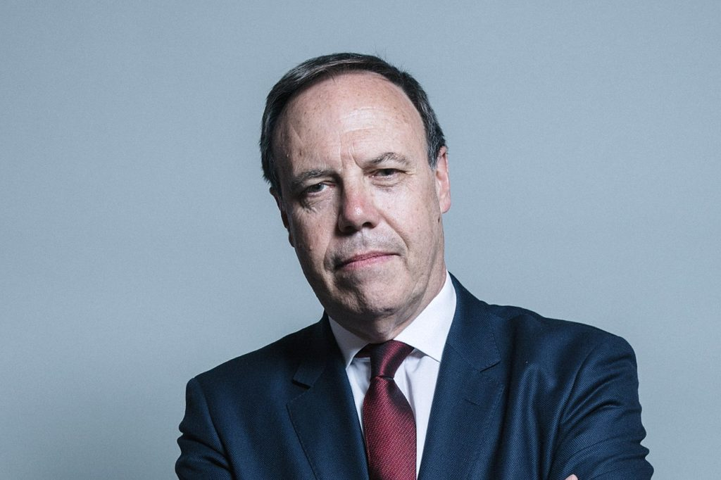 The DUP's Nigel Dodds lost his seat