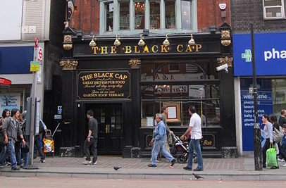 The closure of one of London's longest-running LGBT+ venues, the Black Cap in Camden, sparkled fury from activists and locals alike. (Wikimedia Commons)