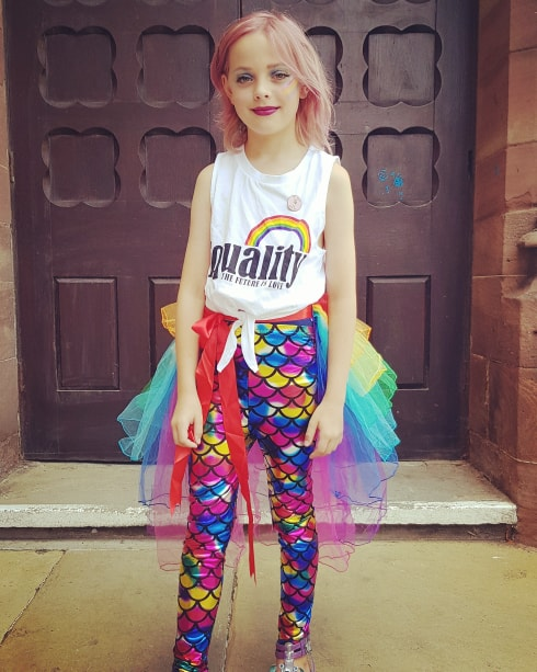 Mum threatened for allowing her non-binary child to dress up in drag