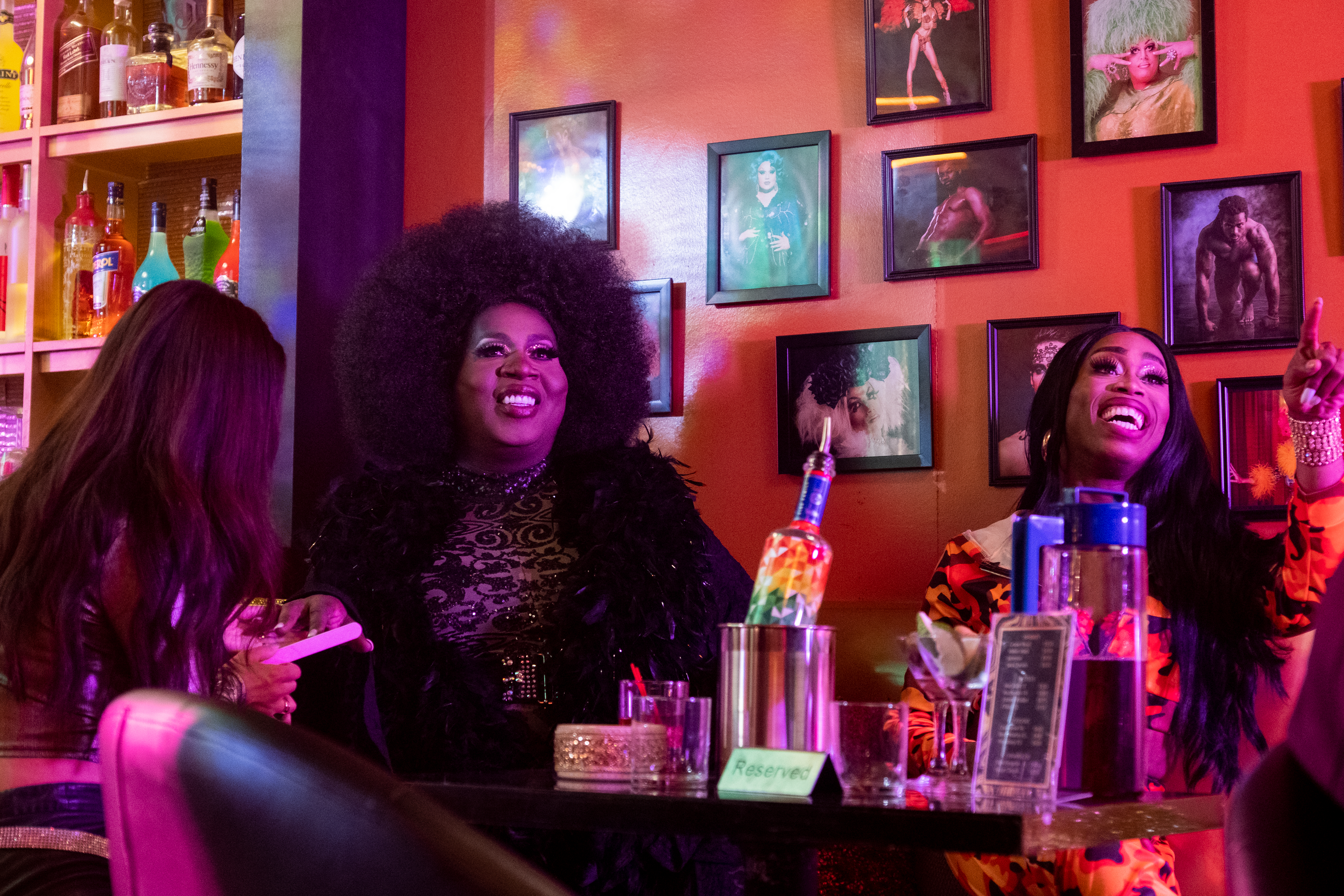 Latrice Royale and Monique Heart in AJ and the Queen