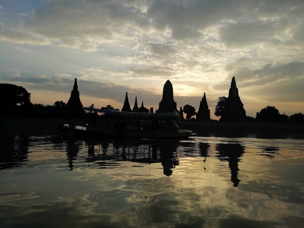 Ayutthaya at sunset (PinkNews)