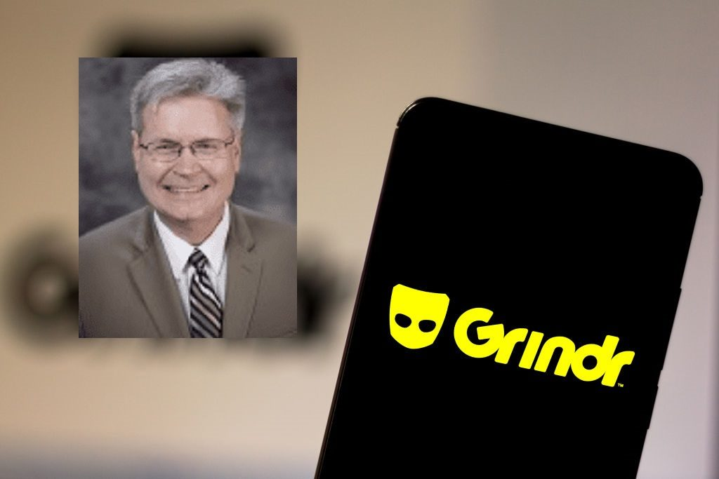 Church elder Barry Cole Poyner was arrested over solicitations on Grindr.