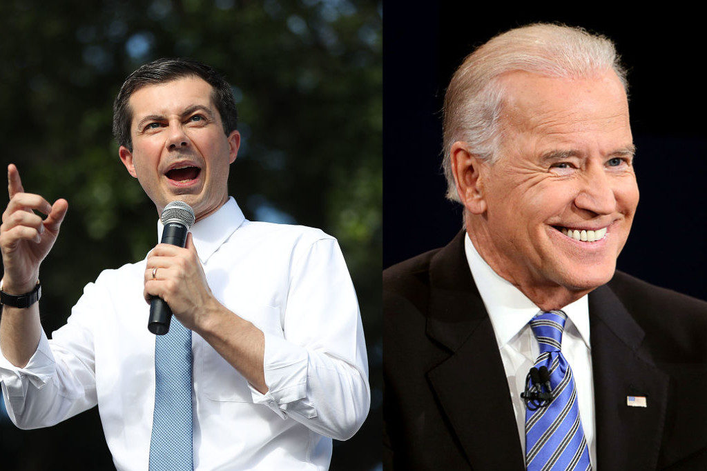 Joe Biden accuses Pete Buttigieg of stealing his healthcare plan