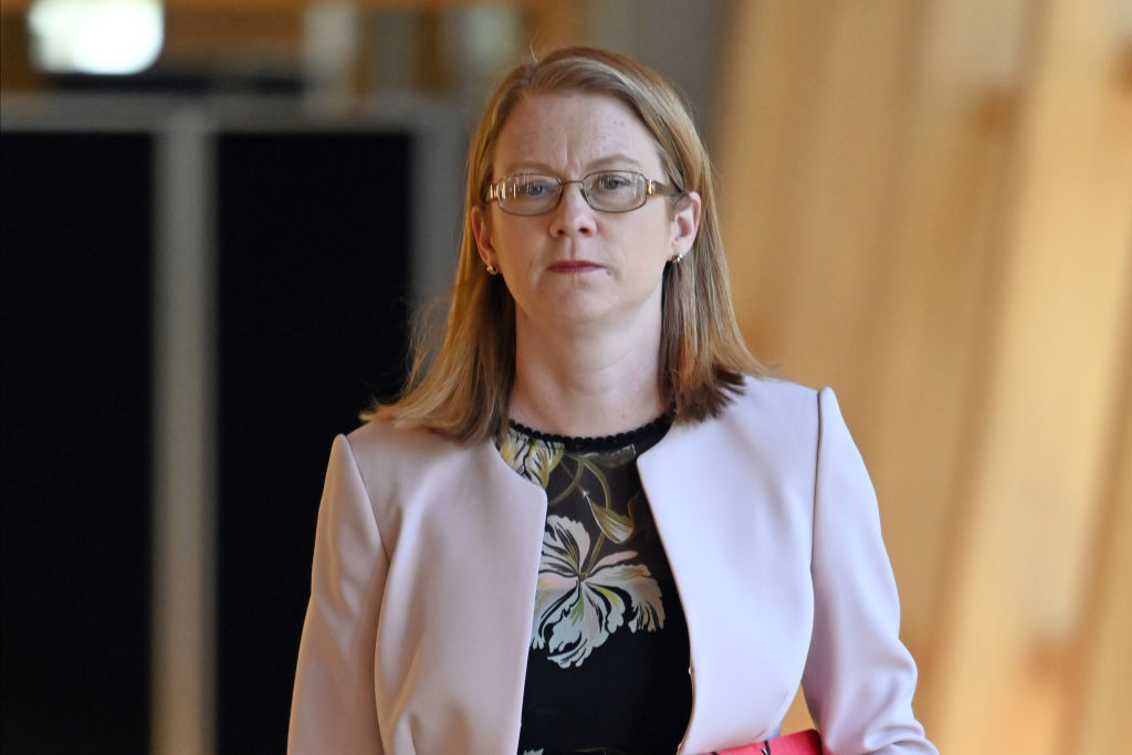 Scottish government minister Shirley-Anne Somerville