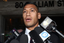 Israel Folau has reached a settlement with Rugby Australia