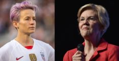 World Cup champion Megan Rapinoe has endorsed Senator Elizabeth Warren for President