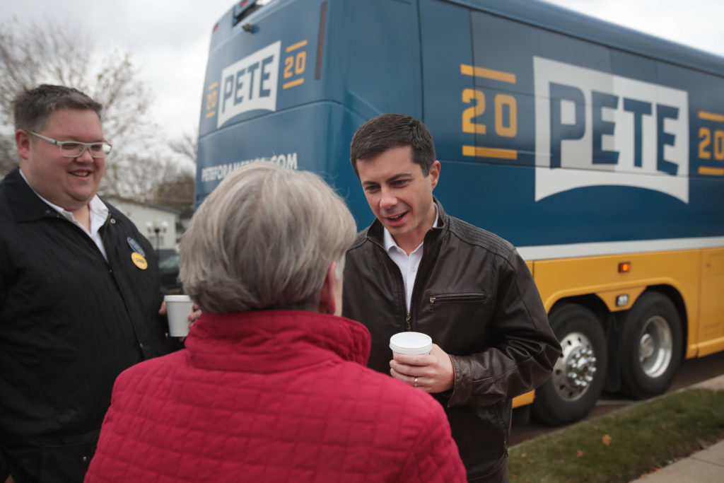 Pete Buttigieg is tied with Trump in Republican stronghold of Arizona