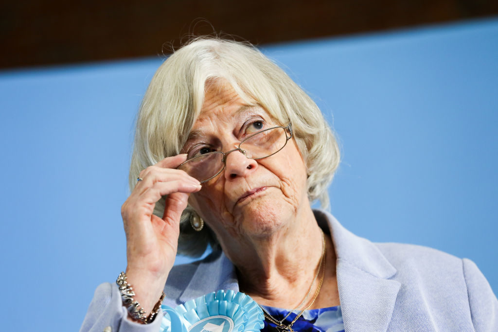 Ann Widdecombe has previously backed gay cure therapy