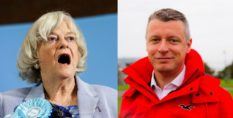 The Brexit Party's Ann Widdecombe lost to Luke Pollard