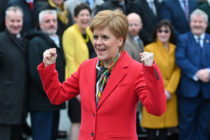 SNP leader and Scottish First Minister Nicola Sturgeon