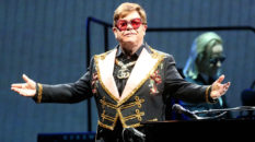 Elton John performing in Perth