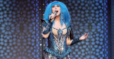 Cher performs at Madison Square Garden on December 4, 2019 in New York City