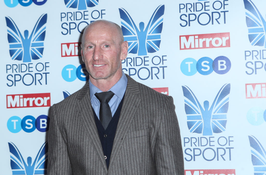 Gareth Thomas left in floods of tears after surprise from his parents