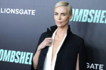 Charlize Theron attends Bombshell New York screening at Jazz at Lincoln Center on December 16, 2019 in New York City.