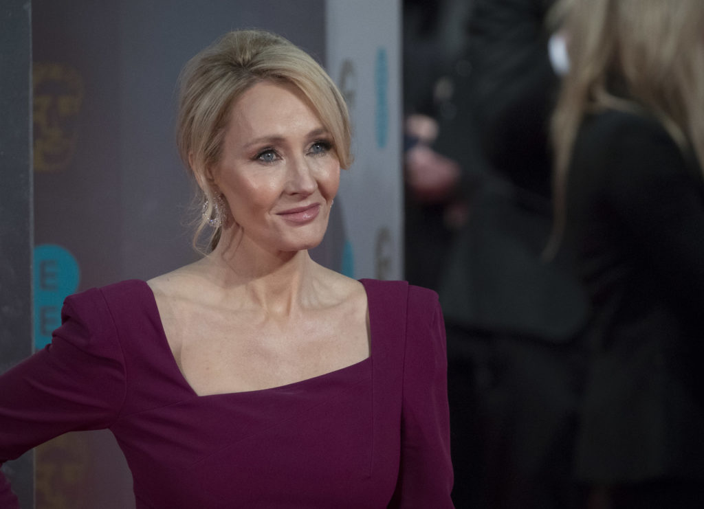 JK Rowling transitioned attends the 70th EE British Academy Film Awards (BAFTA) at Royal Albert Hall on February 12, 2017 in London, England. (John Phillips/Getty Images)
