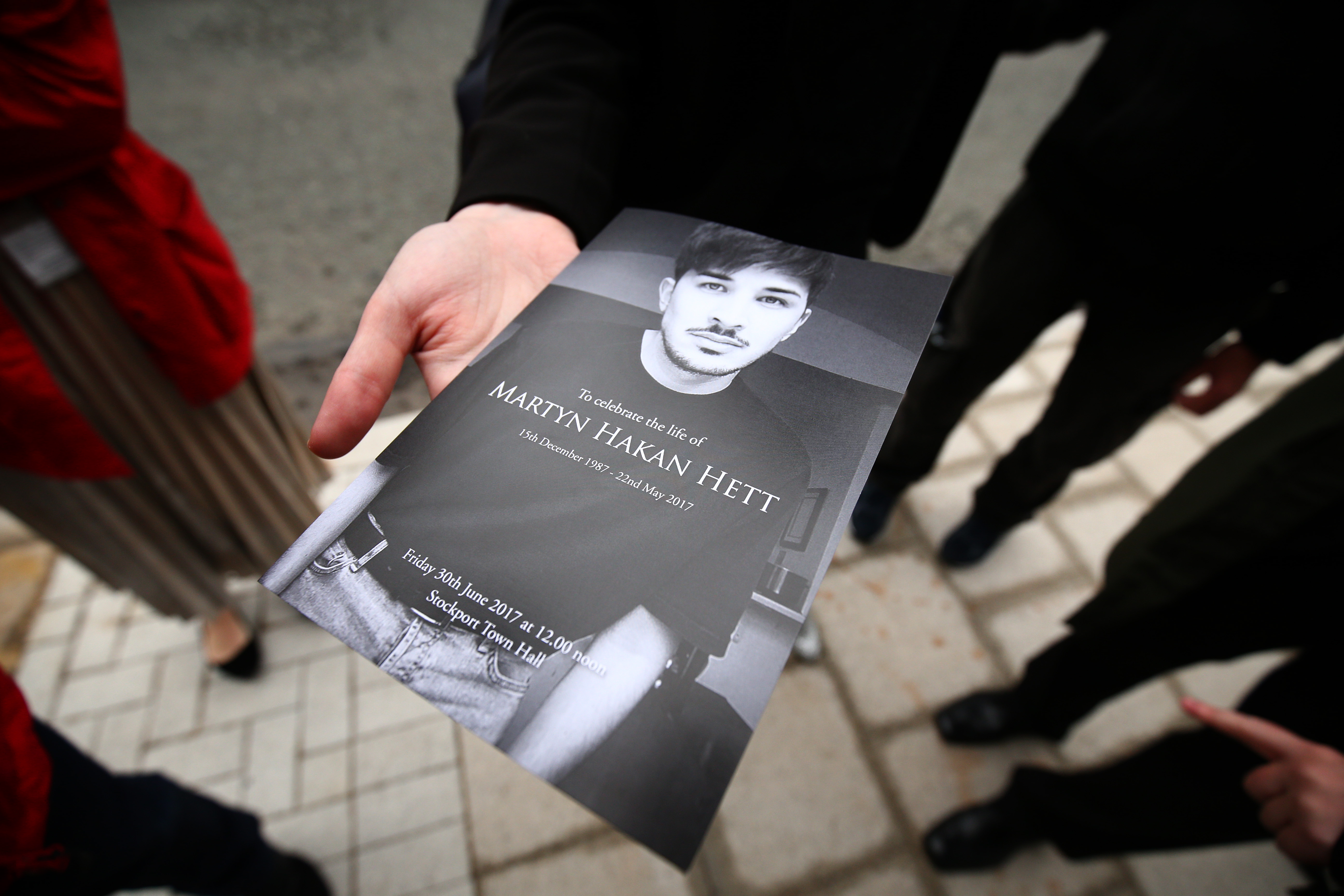 The family of Martyn Hett, one of the victims of a deadly terror attack in Manchester, England, have campaigned for tighter legislation around venue security, dubbed Martyn's law. (Dave Thompson/Getty Images)