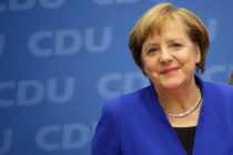 German Chancellor and leader of the German Christian Democrats Angela Merkel