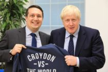 Mario Creatura, pictured with Boris Johnson, had denied responsibility for the cartoon