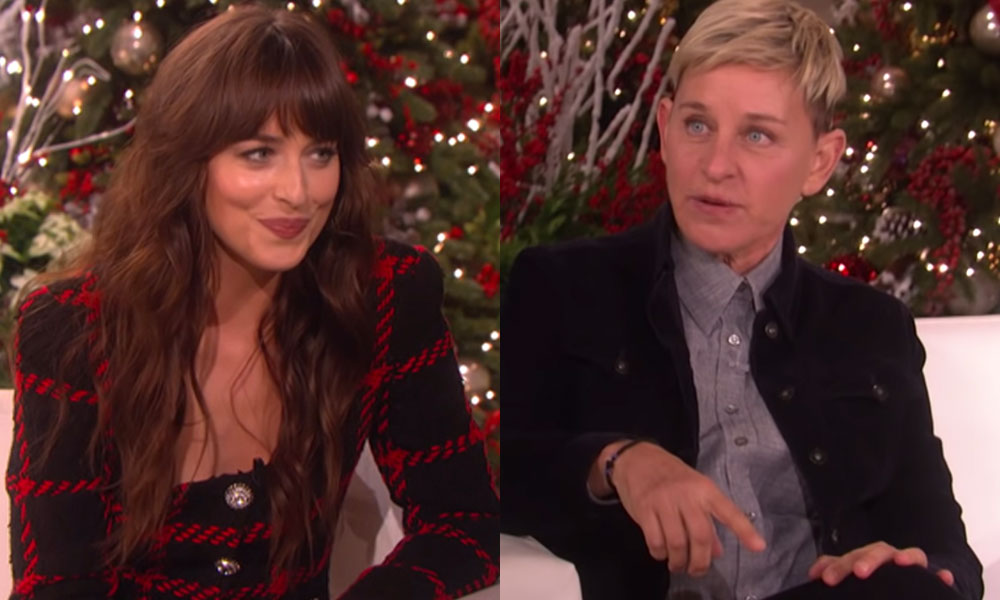 Dakota Johnson's awkward Ellen takedown goes viral and the jokes keep coming