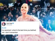 Ahead of fan's aggressive anticipation of her sixth album, Lady Gaga has alerted fans to the fact she struggles to recall the last time she bathed. Yeah. (FILIPPO MONTEFORTE/AFP via Getty Images)