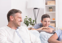 "A father walked in on his son having sex with his ""really good friend"". (Stock photo via Elements Envato)"