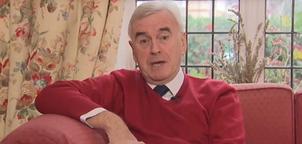 John McDonnell took part in a Q&A with Mumsnet users