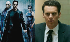 Neo, Trinity and Morpheus from The Matrix / Jonathan Groff