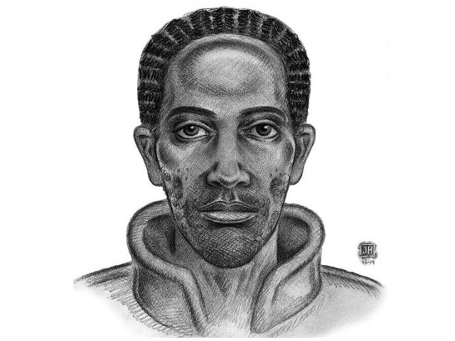 The New York Police Department released a sketch of the suspect