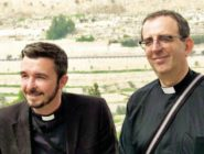 Rev Richard Coles and his civil partner Rev David Coles