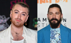 sam smith and Shia LeBoeuf