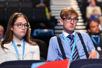 Young Tories at the Conservative Party Conference 2019