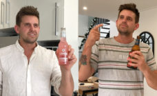 Australian comedian Alex Williamson poked fun at the ways men protect their masculinity in a viral video. (Screenshots via Instagram)