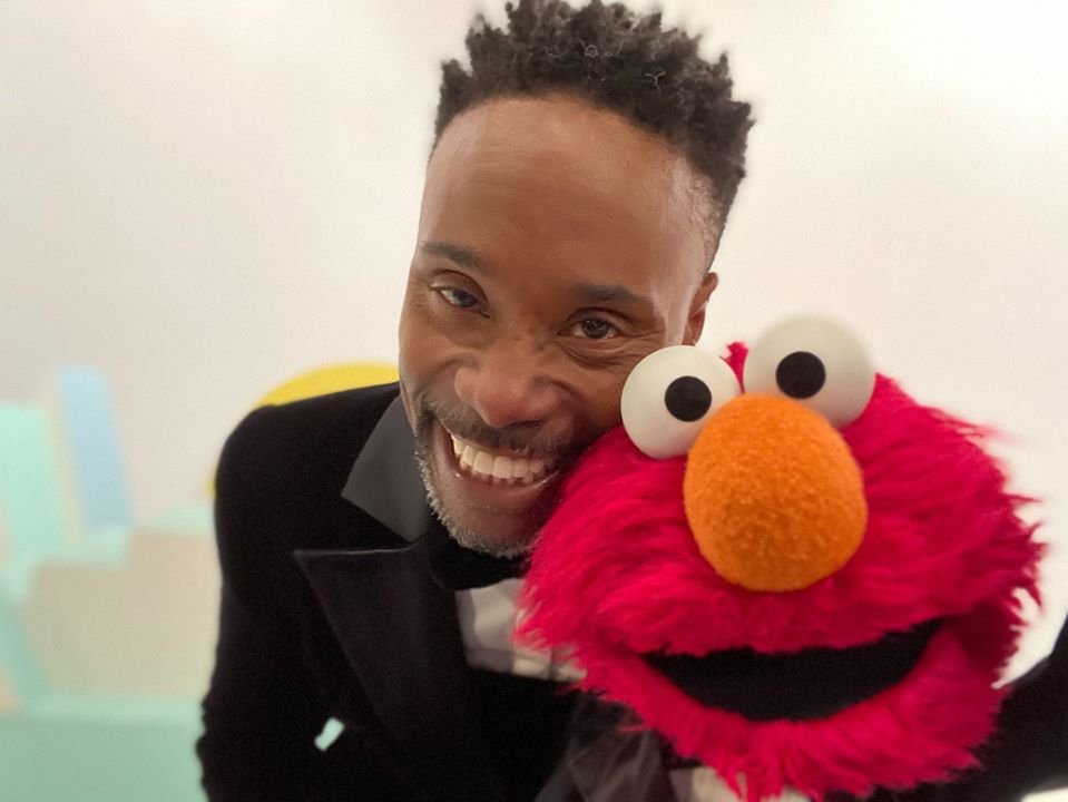 A Republican is trying to defund PBS because Billy Porter met Elmo and apparently it's enough to traumatise kids
