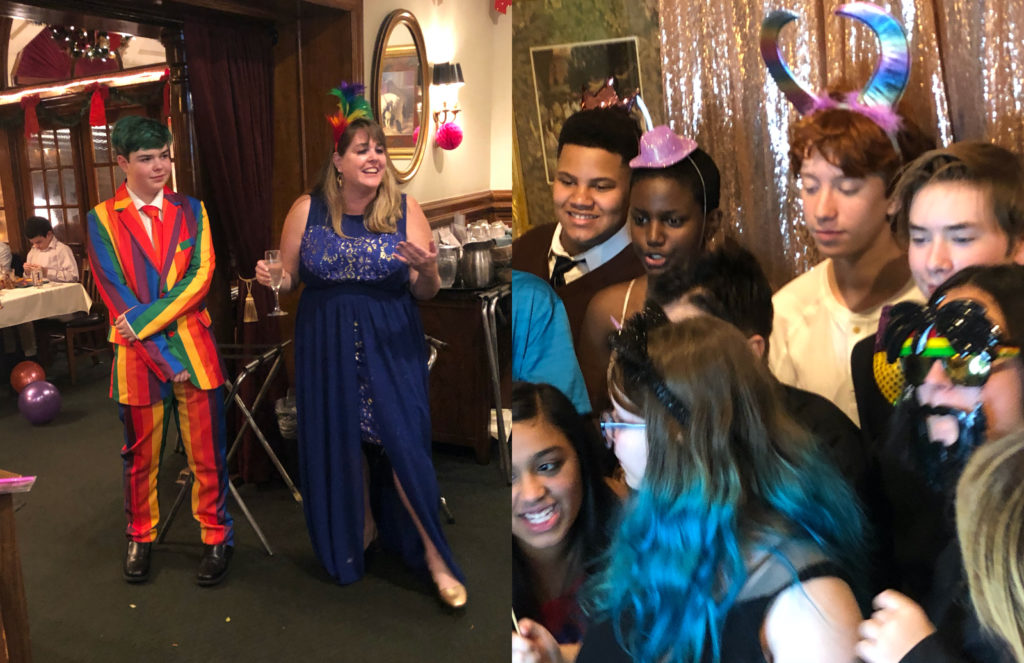Family hold 'gayceanera' for 15-year-old son and it's adorable
