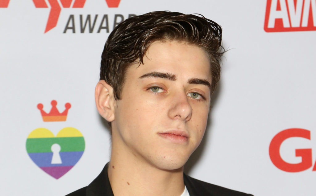 Adult film actor Joey Mills. (Gabe Ginsberg/Getty Images)