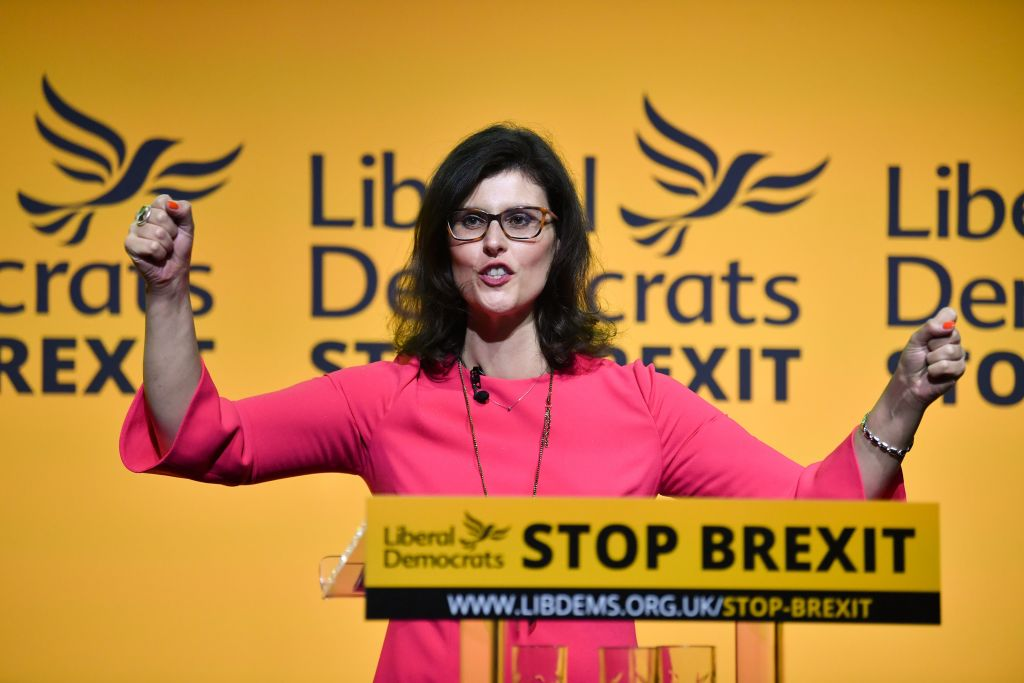 Liberal Democrat MP Layla Moran speaks at party conference