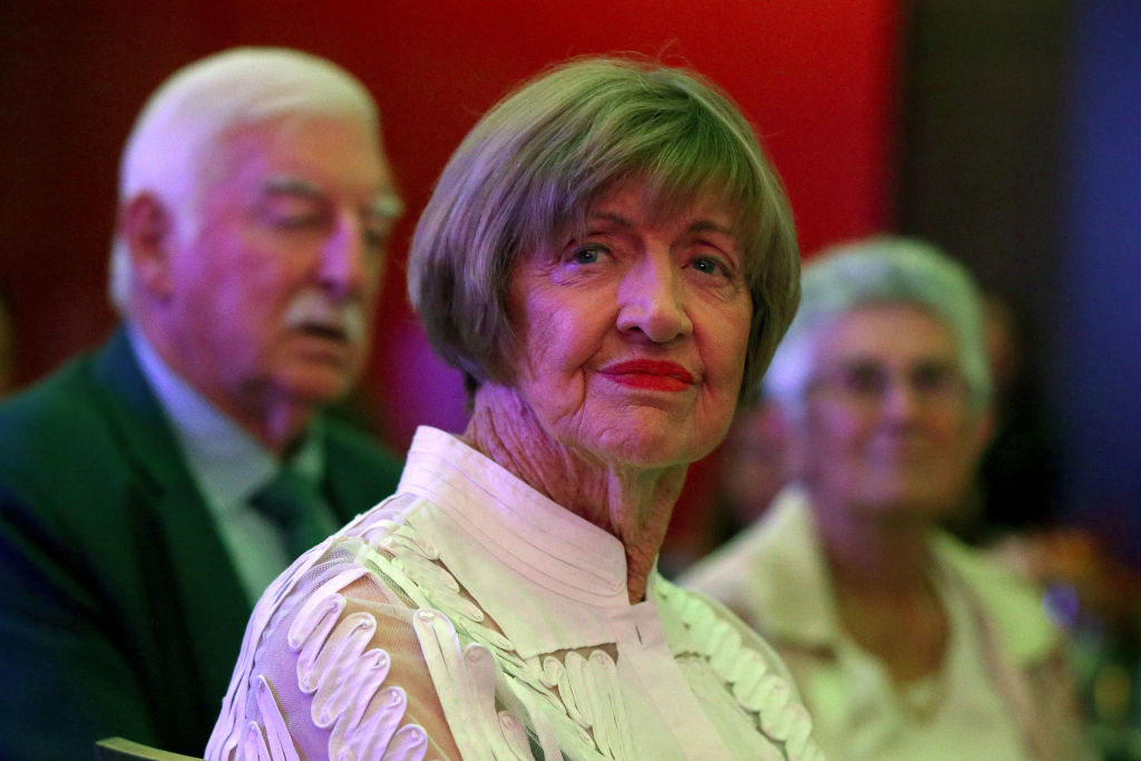 Retired tennis player and anti-gay preacher Margaret Court