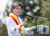 Lesbian Columbia mayor of Bogota Claudia Lopez