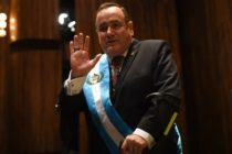 Guatemala swears in homophobic new president who's staunchly against marriage equality and LGBT rights
