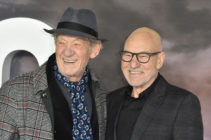 Ian McKellen and Patrick Stewart attend the Amazon Original, Star Trek: Picard. (James Warren / Echoes Wire / Barcroft Media via Getty Images)